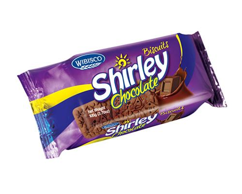 Wibisco Shirley Biscuits Chocolate