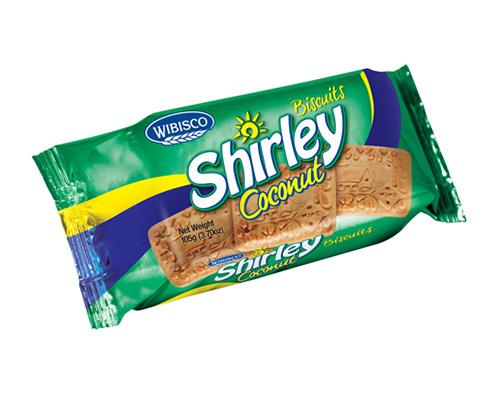 Wibisco Shirley Biscuits Coconut