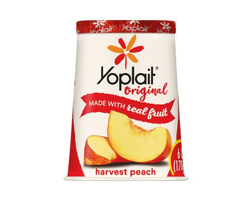 Yoplait Yogurt Harvest Peach