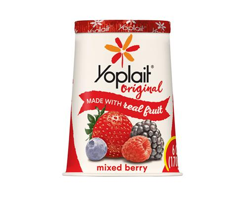 Yoplait Yogurt Mixed Berry