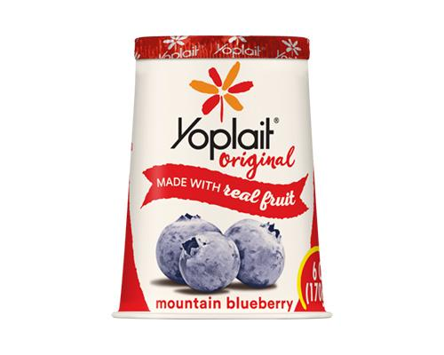 Yoplait Yogurt Mountain Blueberry