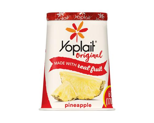 Yoplait Yogurt Pineapple