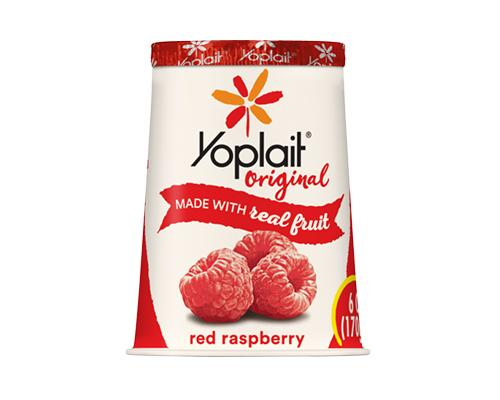 Yoplait Yogurt Red Rasberry