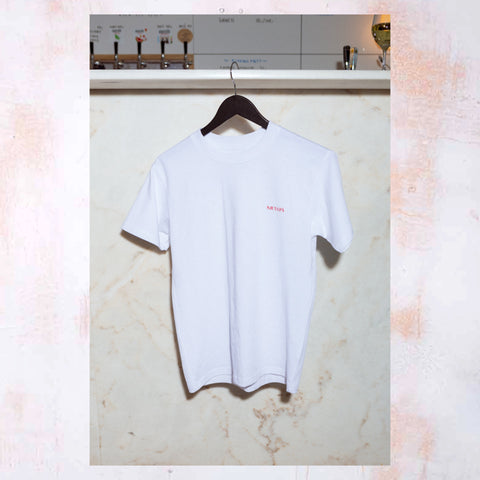 WHITE OYSTER T-SHIRT