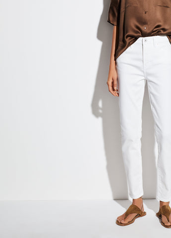 5-Pocket Skinny in White