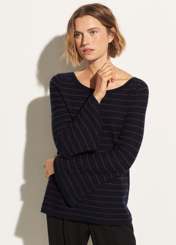 Bell Sleeve Pullover in Coastal/Anise
