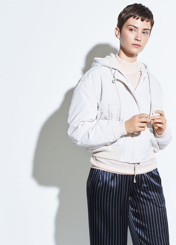 Soft Bomber Tech Jacket in Lucite
