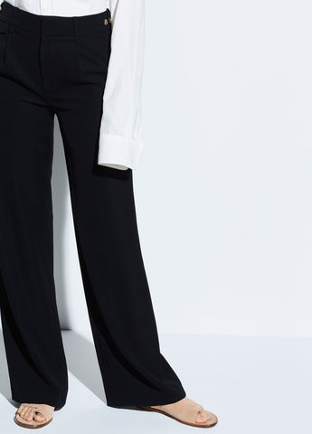 Relaxed Trouser in Black