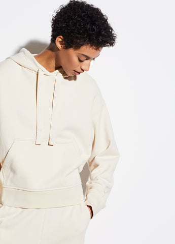 Cinched Back Hoodie in Fennel
