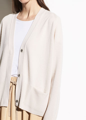 Raglan Sleeve Snap Cardigan in Sandstone
