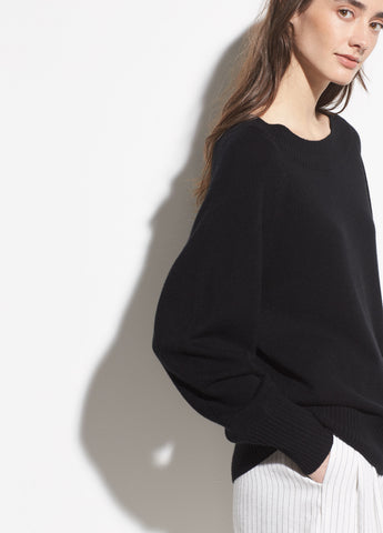 Full Sleeve Pullover in Black
