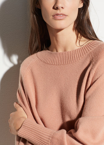 Full Sleeve Pullover in Blush