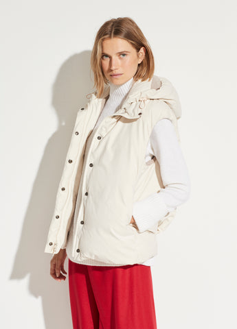Puffer Vest in Light Fawn