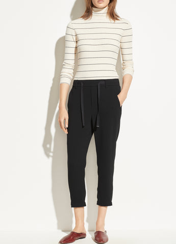 Easy Pull On Pant in Black