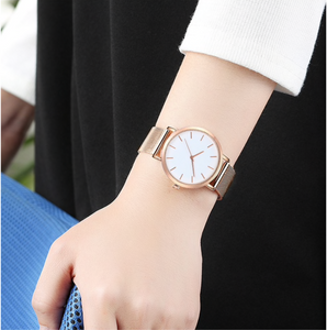 """Timeless"" Ladies Watch Rose Gold / Silver / Gold / Black"