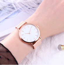 "Load image into Gallery viewer, ""Timeless"" Ladies Watch Rose Gold / Silver / Gold / Black"