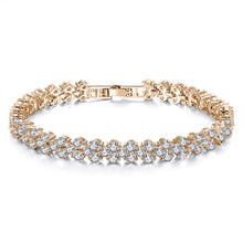 "Load image into Gallery viewer, ""Shine Bright Like A Diamond"" Bracelet Rose Gold / Silver / Gold"