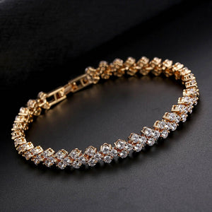 """Shine Bright Like A Diamond"" Bracelet Rose Gold / Silver / Gold"