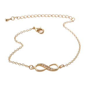 """Best Friends Forever"" Infinity Bracelet Silver / Gold"