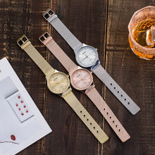 "Load image into Gallery viewer, ""Time To Shine"" Ladies Watch Rose Gold / Silver / Gold"