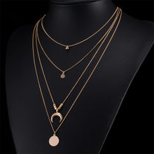 "Load image into Gallery viewer, ""Constellation Prize"" Multi-Layer Necklace"