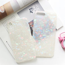 "Load image into Gallery viewer, ""Glitter Dreams"" Soft Cover iPhone Case"