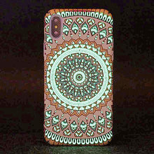 "Load image into Gallery viewer, ""Luminous Life"" Hard Cover iPhone Case"
