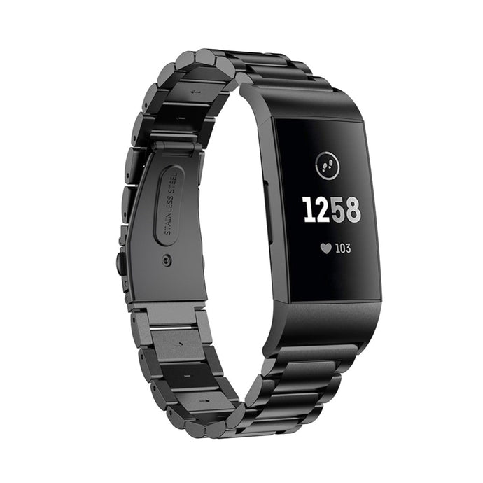 Fitbit Charge 3 Stainless Steel Strap