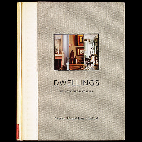Dwellings: Living With Great Style, exemplaire de John Galliano avec envoi des auteurs (2003)