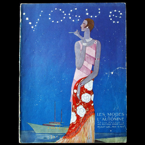 Vogue France (1er juillet 1926), couverture de Benito