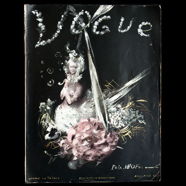 Vogue France (mars-avril 1947), les débuts de Christian Dior