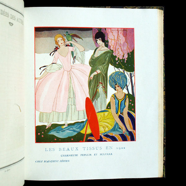 Agenda Femina 1922, illustrations de George Barbier, Brunelleschi, Benito, etc.