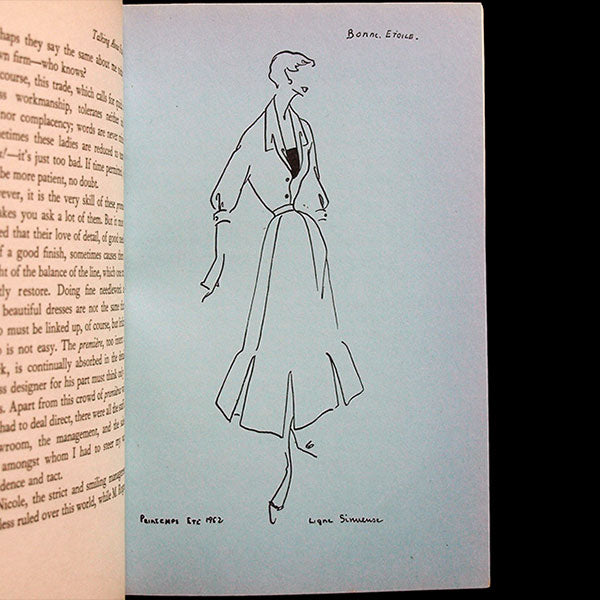 Christian Dior talking about Fashion, édition anglaise de Je suis couturier, propos de Christian Dior (1954)