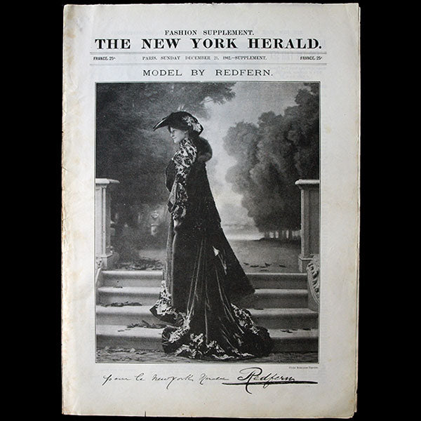The New York Herald Fashion Supplement, December 21st, 1902