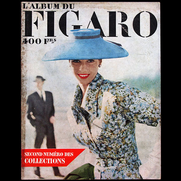 Album du Figaro, n°41, avril-mai 1953, couverture de Richard Dormer