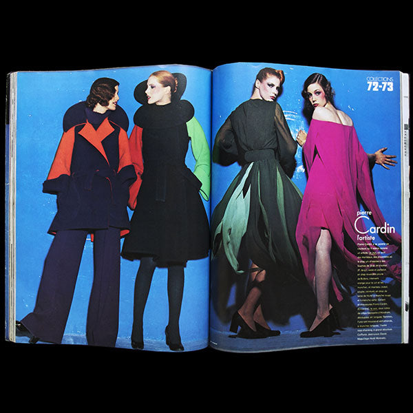 Vogue France (septembre 1972), couverture de Mike Reinhardt