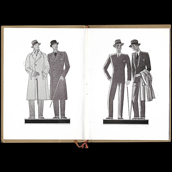 Paris, sa mode masculine, circa 1930