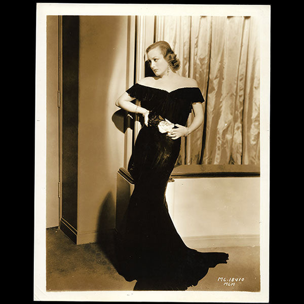 Joan Crawford, robe d'Adrian pour Possessed (1931)