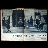 Paris Match - Mort de Dior (1957)