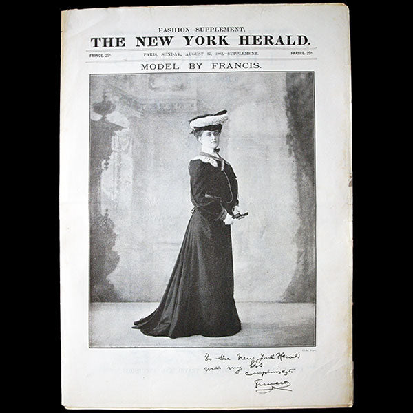 The New York Herald Fashion Supplement, August 17th 1902
