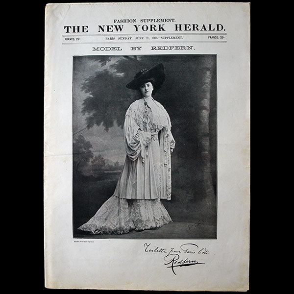 The New York Herald Fashion Supplement, June 21th 1903