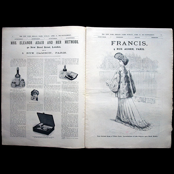 The New York Herald Fashion Supplement, April 26th, 1903