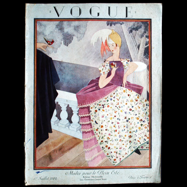 Vogue France (1er juillet 1924), couverture de George Plank