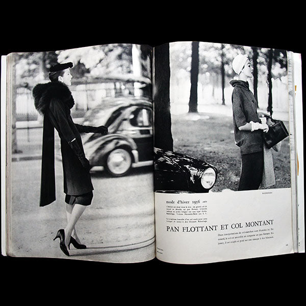 Vogue France (1er septembre 1955), couverture de René Gruau