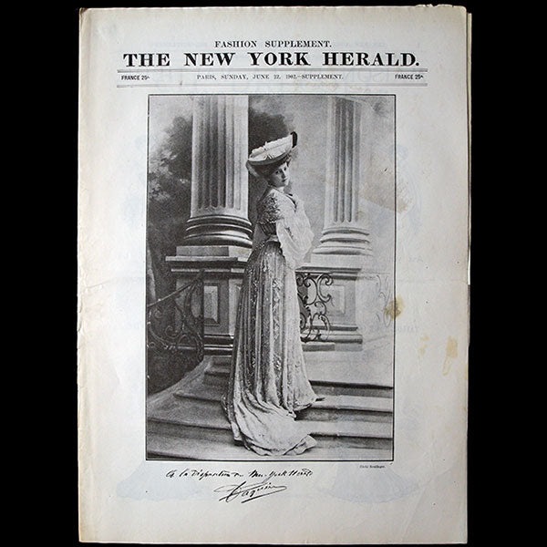 The New York Herald Fashion Supplement, June 22th 1902