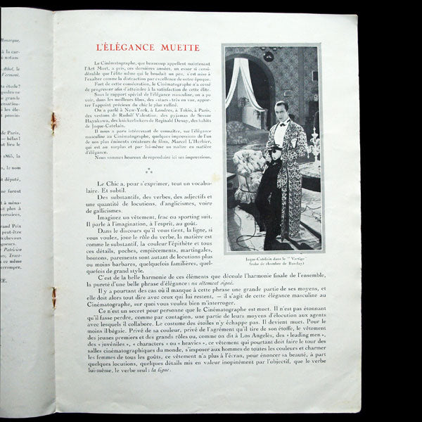 Gazette de Barclay, modes et élégances, n°8, printemps 1927