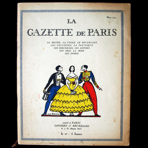 La Gazette de Paris (mars 1921)