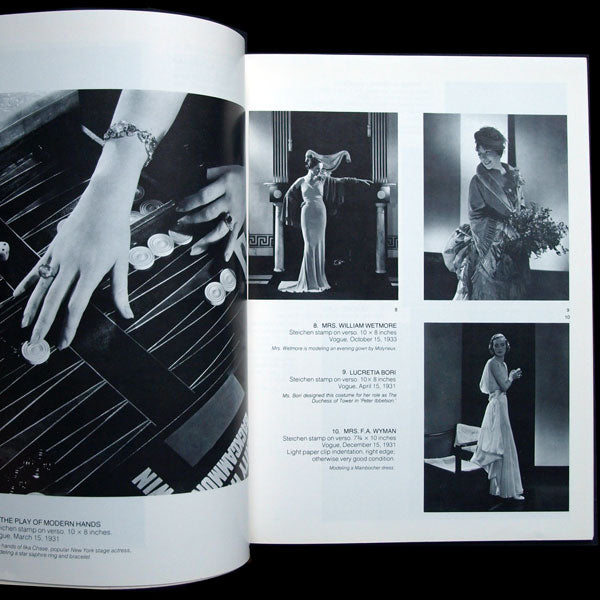 The Fashionable World, original photographs used to illustrate Vogue and Vanity Fair from the personal collection of the late Dr. M. F. Agha (1979)
