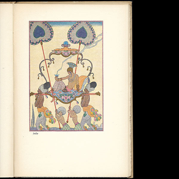 Barbier - The Romance of Perfume, illustrations de George Barbier (1928)