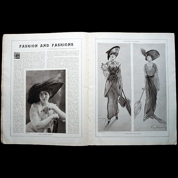 Gallery of Fashion (août 1912), version américaine de la revue Les Modes